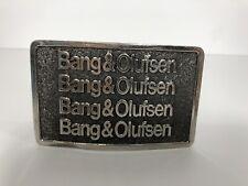 Bang & Olufsen Vintage 1979 Belt Buckle Excellent Condition