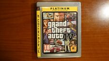 1650 Playstation 3 Grand Theft Auto IV PS3 PAL GTA