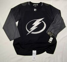 TAMPA BAY LIGHTNING size 52 = Large Alternate 3rd Style ADIDAS NHL HOCKEY JERSEY