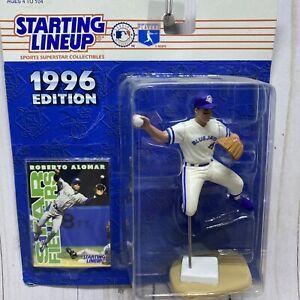 Vintage 1996 ROBERTO ALOMAR Toronto Blue Jays #12 MLB Starting Lineup Baseball