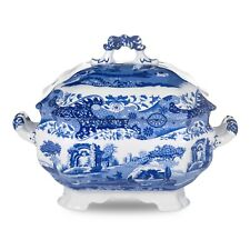 Spode Blue Italian  soup tureen with cover