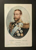 1908 Quebec Tricentenary Prince of Wales Canada Picture Postcard Cover IN USA