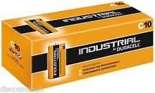 6 x Duracell Industrial Procell MN1400 LR14 C Cell Alkaline Batteries -  Loose