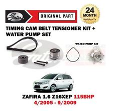 FOR VAUXHALL ZAFIRA 1.6 Z16XEP 2005-2009 NEW TIMING CAM BELT KIT + WATER PUMP
