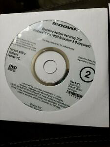 Lenovo Operating System Recovery Disc Windows 8 Pro Recovery OEM DVD