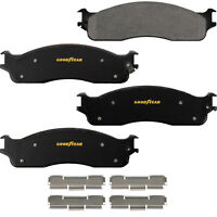 Goodyear Brakes GYD965 Automotive Carbon Ceramic Truck and SUV Front Brake Pads