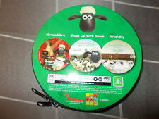 SHAUN THE SHEEP 3 DVD set in zip case - region 4 DVD produced by ABC