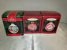 3 Vintage Mary Engelbreit Hallmark Keepsake Ornaments 1991 1993 1995