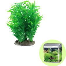 20*14cm Plastic Water Plants For Fish Tank Ornament Simulation Aquatic Grass New