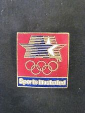1984  LOS ANGELES OLYMPIC STARS IN MOTION SPORTS ILUSTRATED PIN VERY NICE