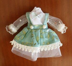 Green Lolita Suits Dress clothes For 1/8 BJD Doll Fairyland Pukifee, Lati Yellow
