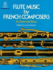 Flute Music by French Composers for Flute & Piano Woodwind Solo NEW 050331090