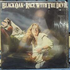 Black Oak Arkansas 2 LPs Race With The Devil, I'd Rather be Sailing NM in Shrink