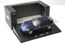 1:43 Hot Wheels Elite Ferrari FF dark blue NEW bei PREMIUM-MODELCARS