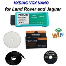 WIFI Version VXDIAG VCX NANO for Land Rover/Jaguar Software V141 OBD2 Scanner