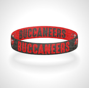 Reversible Tampa Bay Buccaneers Bracelet Wristband Fire The Cannons Go Bucs