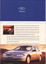1999 FORD AU FALCON FAIRMONT XR8 FORTE Australian 8p Small Format Brochure