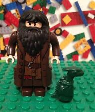 LEGO Harry Potter Hagrid Minifigure Norbert with Baby Dragon  10127 4738