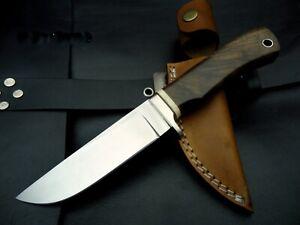 "Dmasknife 9"" Custom 440C Stainless Steel Bushcraft Survival Fall Hunting knife"