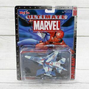 Maisto Marvel Series 1 Spider-Man F-16 Fighting Falcon Die Cast Airplane