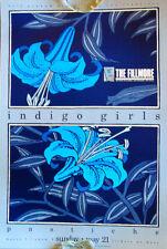 Indigo Girls 1989 Concert Poster