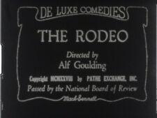THE RODEO (1929) Mack Sennett's family series with Mary Ann Jackson - S8mm