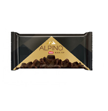 ALPINO Chocolate Black Top 90 gr. | Milk Chocolate/ Simile Bitter Chocolate.