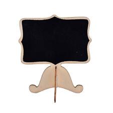 Mini Wooden Chalkboard Blackboard Message Table Number Wedding Party Decor NP Wood 5pcs