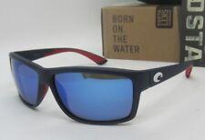 COSTA DEL MAR blue/blue mirror USA MAG BAY POLARIZED 400G sunglasses NEW IN BOX!
