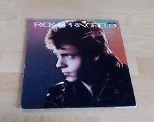 Rick Springfield, original signed LP Cover *Hard to Hold* inkl. LP