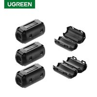 Ugreen Clip-on Ferrite Ring Core RFI EMI Noise Suppressor for 3.5mm 5mm Cable