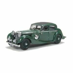 Oxford Diecast 1:43 JSS005 Suede Green SS Jaguar 2.5 Saloon - NEW