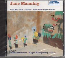 JANE MANNING SINGS WEIR - NASH - CONNOLLY - BAULD - ELIAS - PAYNE - GILBERT