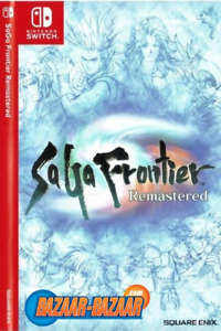 Saga Frontier Remastered Switch physical New and Sealed