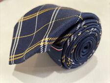 *NWT* Tommy Hilfiger Men's Blue Plaid Silk Neck Tie $98