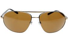 $550 Christian Dior Womens Aviator Sunglasses Gold DG2074 60/15-135