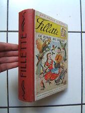 RELIURE  ANNUELLES   FILLETTE  ( numeros  333 A 384    )  1951