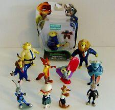Disney Zootropolis / Zootopia Mixed Toy Figures Bundle