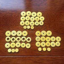 3 set Flute Pads:17 Open hole Flute pads +17 close pads+16 close pads part