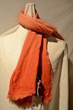 Paul Smith Smart Men's Spray Tye-Dye Orange Lightweight Lambswool Scarf