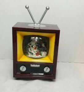 Christmas LED Glitter TV Xmas SANTA Tree Lamp Home Gift Decoration 1734-2