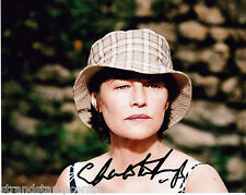 "Charlotte Rampling Colour 10""x 8"" Signed Photo - UACC RD223"