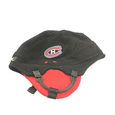 New NHL Montreal Canadians Men's Winter Fleece Helmet Hat 1 Size GO HABS GO!!!