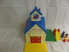 VTG 1989 SPECTRA MY LITTLE SCHOOL SCHOOLHOUSE TOY DAYCARE PLAY HOUSE SCHOOL BELL