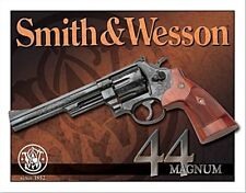 Smith & Wesson 44 Magnum Letrero de Metal 410mm x 300mm (De)