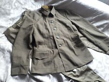 More details for vintage and collectable ussr army jacket and trousers.