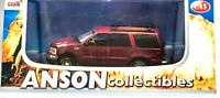 Anson Ford EXPEDITION RED Diecast Truck 1:43 #80804 ~ NEW STILL SEALED IN BOX