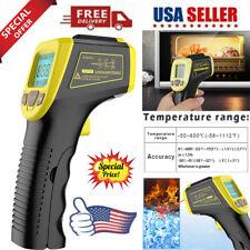 Laser Infrared Thermometer Non Contact Digital Ir Temperature Pyrometer Gun Us