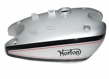 NORTON INTERNATIONAL MODEL 30 CLUBMAN'S SILVER PAINTED FUEL TANK REPRO