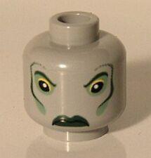 LEGO 4762 - HARRY POTTER - Minifig Head, Merman Fish Eyes, Green Lips Pattern